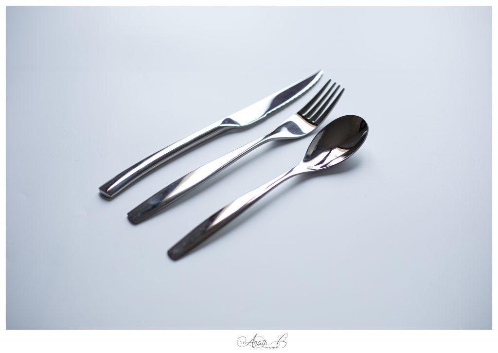 Couteaux / fourchettes / cuillères à dessert